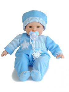 Berjuán arrasó el pasado año con su 'Bebé Glotón', el prime muñeco lactante del mundo. Espera repetir éxito este año.