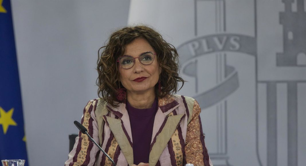 María Jesús Montero ministra de Hacienda