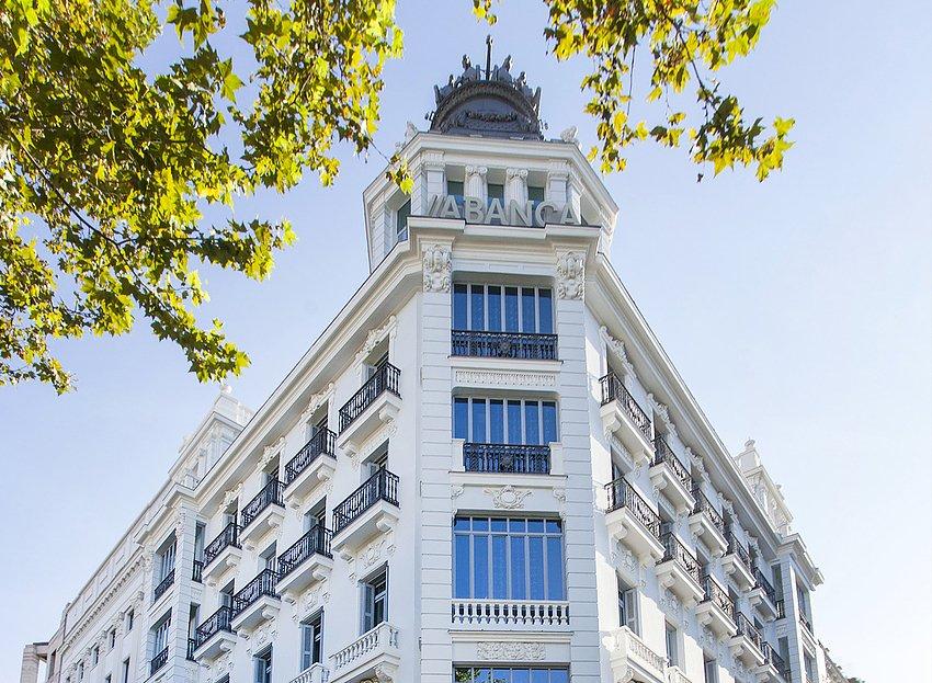 Abanca, sede en Madrid