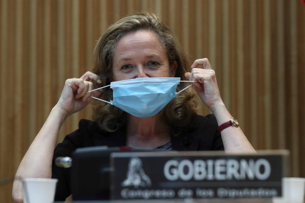 Nadia Calviño comparece ante la Comisión de Reconstrucción