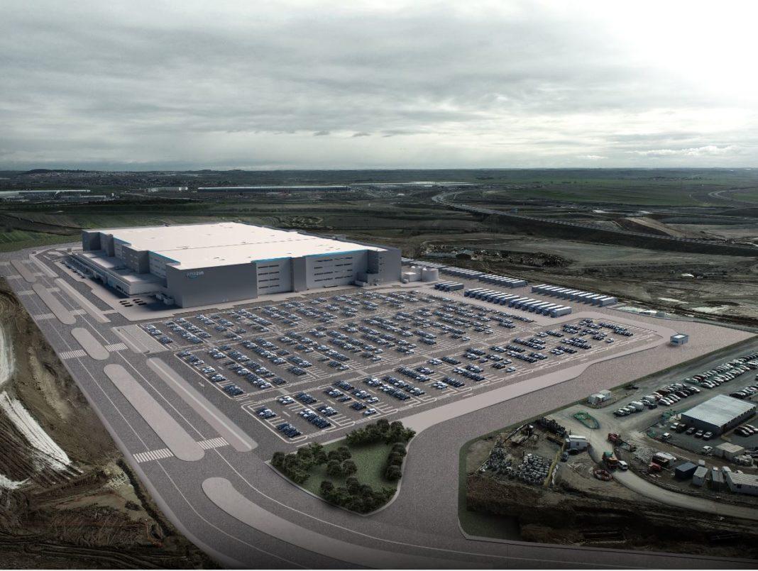 Nuevo centro logístico de Amazon en Ilescas