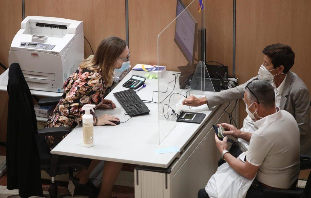Oficina de la Agencia Tributaria. Eduardo Parra - Europa Press