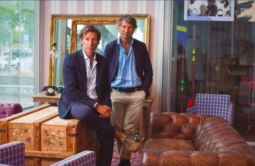 Clemente y Álvaro Cebrián El Ganso